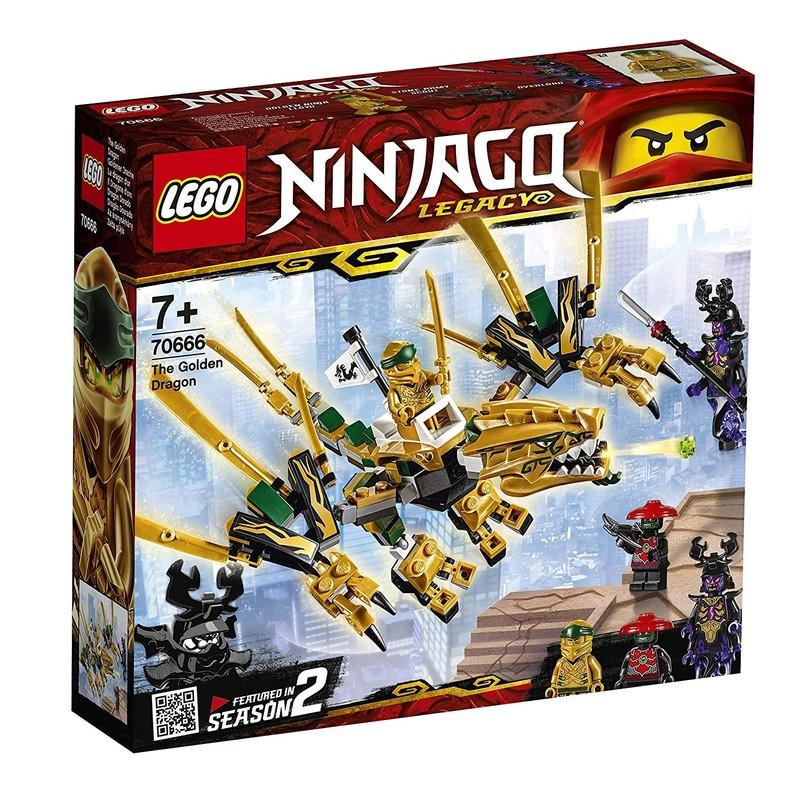 LEGO - Ninjago 70666 Zlatý drak