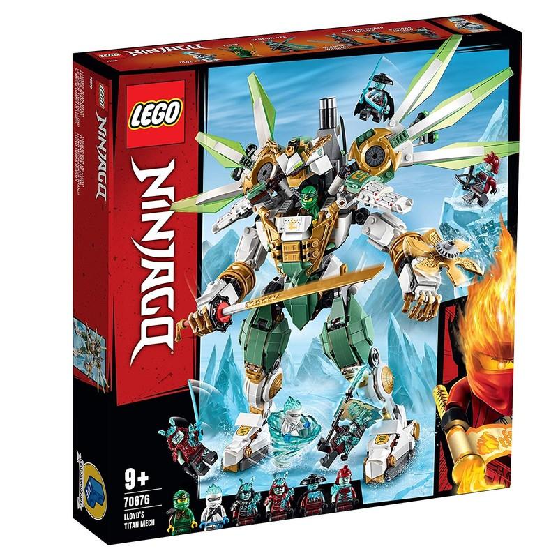 LEGO - Ninjago 70676 LLOYD titánský robot