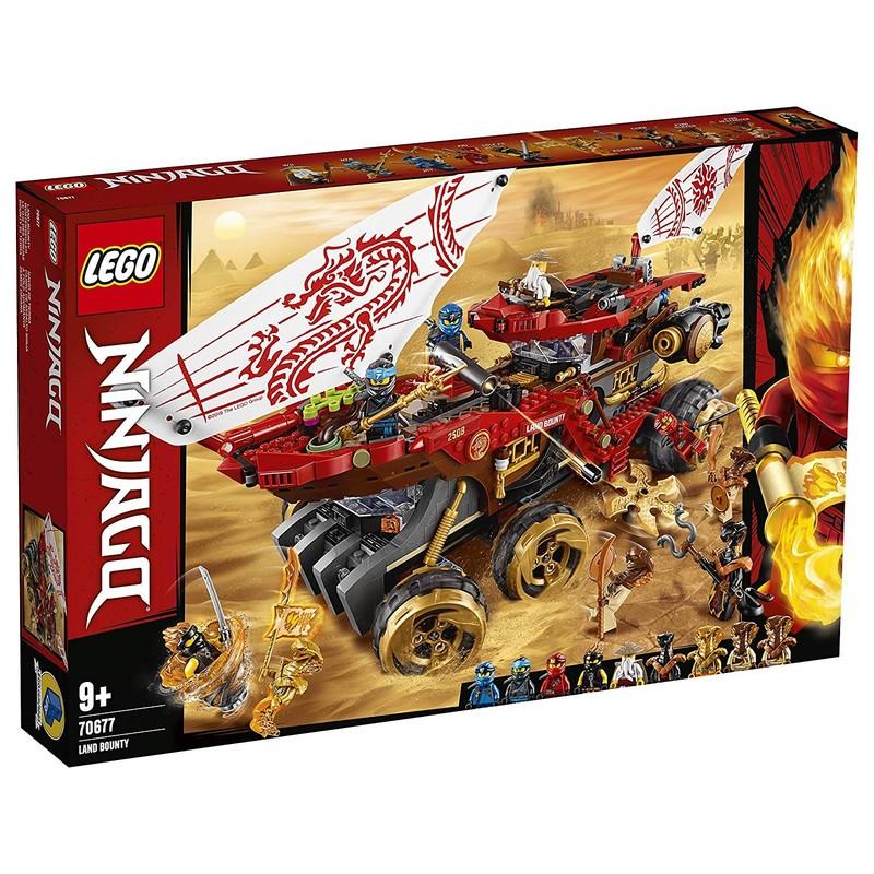 LEGO - Ninjago 70677 Pozemní Odměna osudu