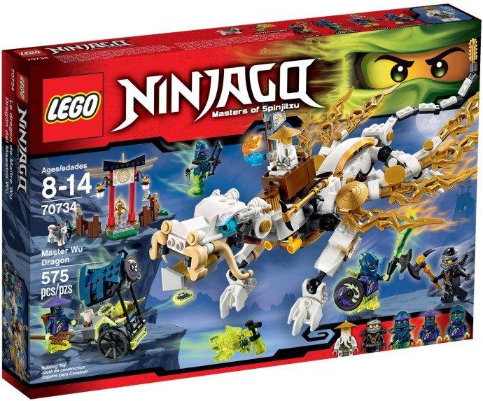 LEGO - Ninjago 70734 Drak Mistra Wu