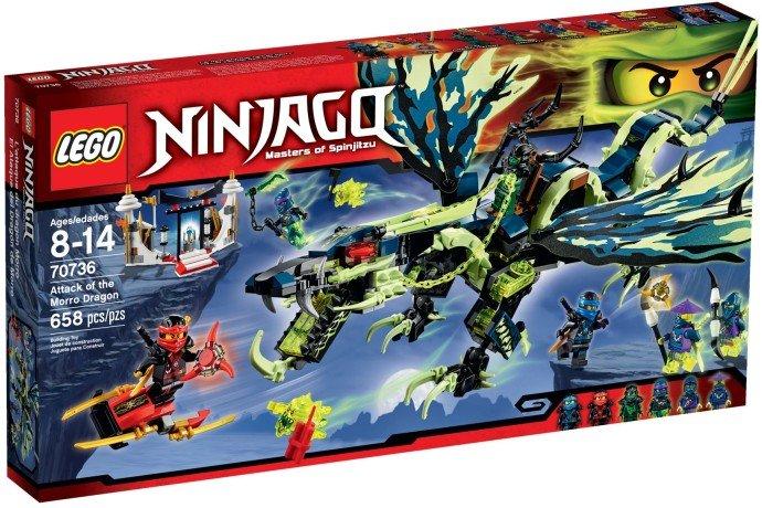 LEGO - Ninjago 70736 Útok draka Morro