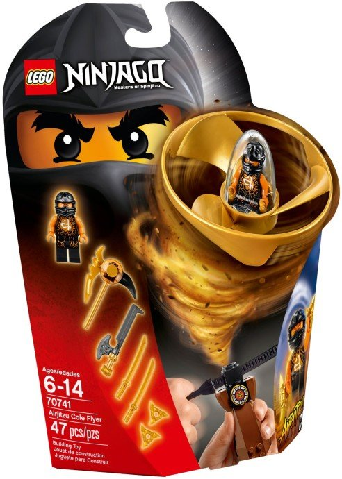 LEGO - Ninjago 70741 Coleová letadlo Airjitzu