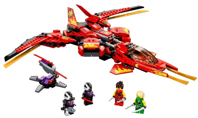 LEGO - Ninjago® 71704 Kaiov letoun