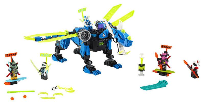 LEGO - Ninjago 71711 Jay a kyberdrak