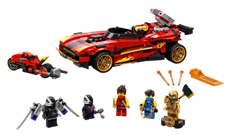 LEGO - Ninjago 71737 Kaiovi červené superauto