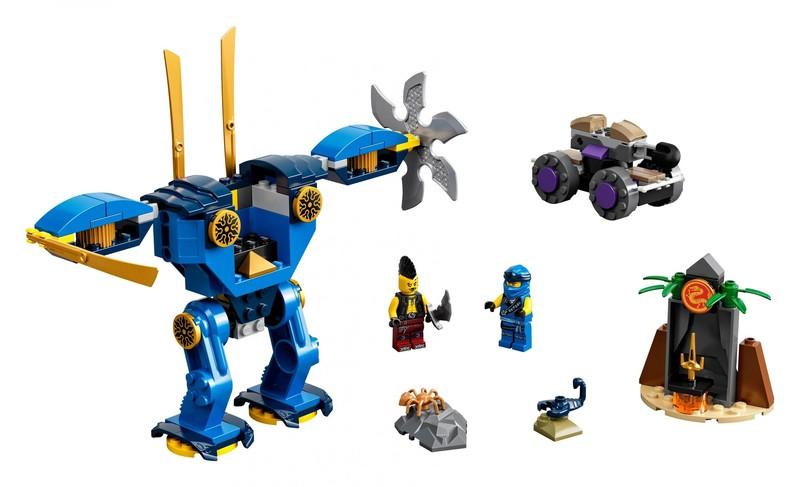 LEGO - Ninjago 71740 Jayův elektrorobot