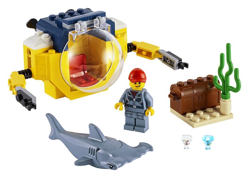 LEGO - Oceánská mini ponorka