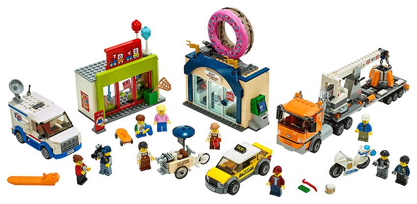 LEGO - Otevření Obchodu S Koblihami