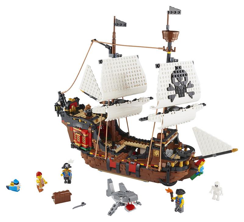 LEGO - Pirátská loď