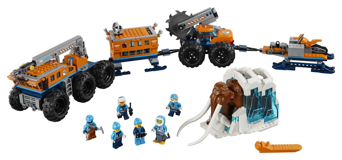 LEGO - Mobilní polární stanice
