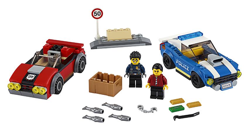 LEGO - Policejní Honička Na Dálnici
