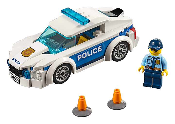 LEGO - Policejní Auto