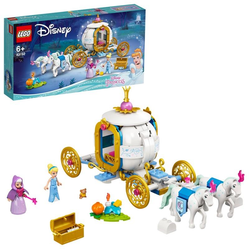 LEGO - Popelka a královský kočár
