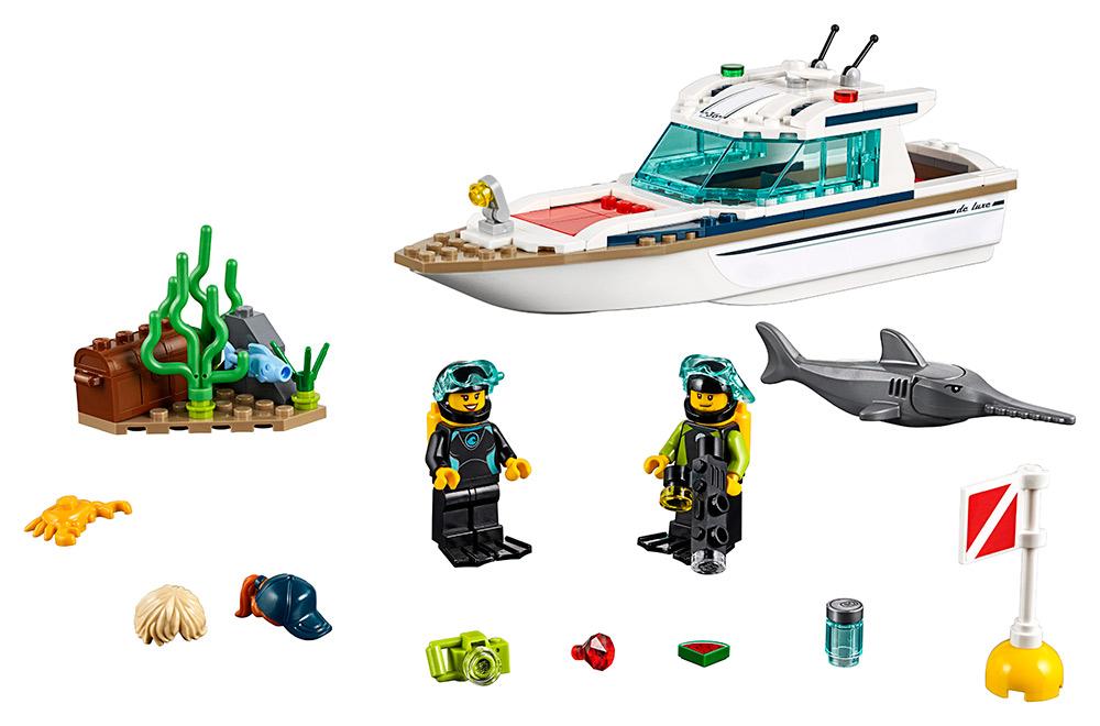 LEGO - Potápěčská Jachta