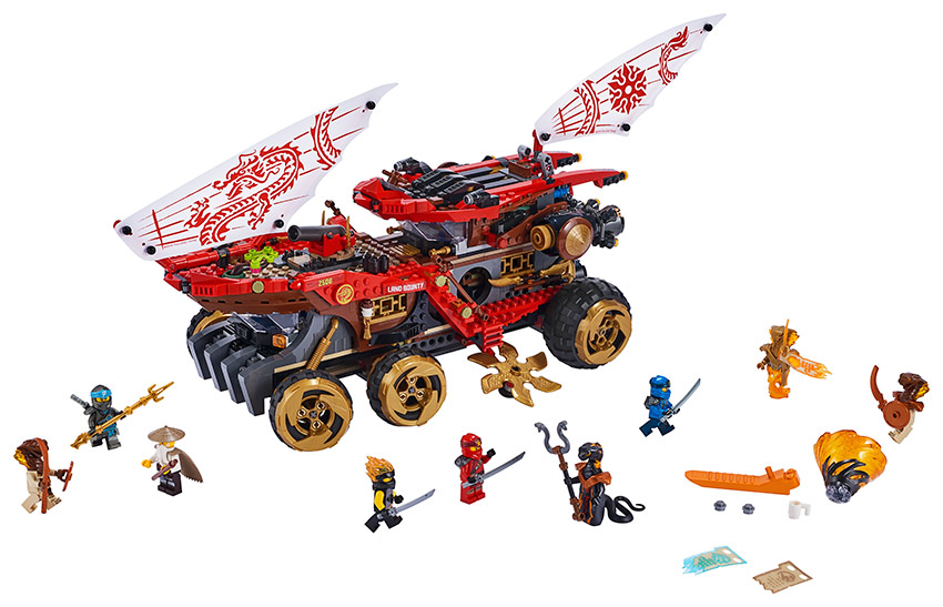 LEGO - pozemní odměna osudu