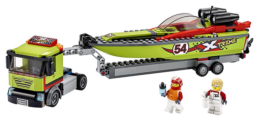 LEGO - Přeprava Závodního Člunu