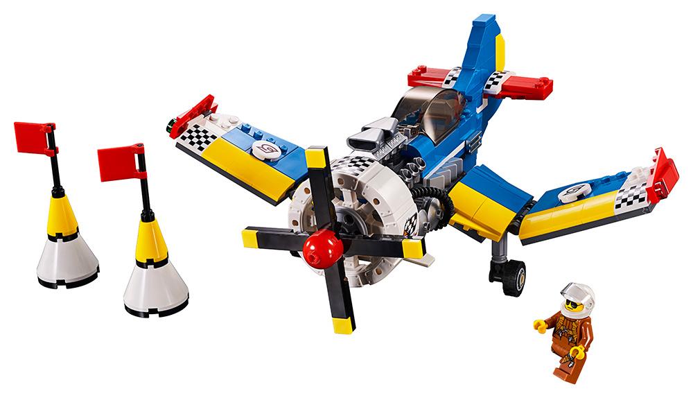 LEGO - Závodní Letadlo