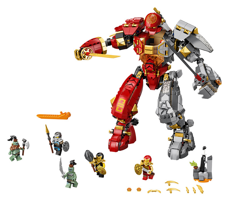 LEGO - Robot ohně a kamene