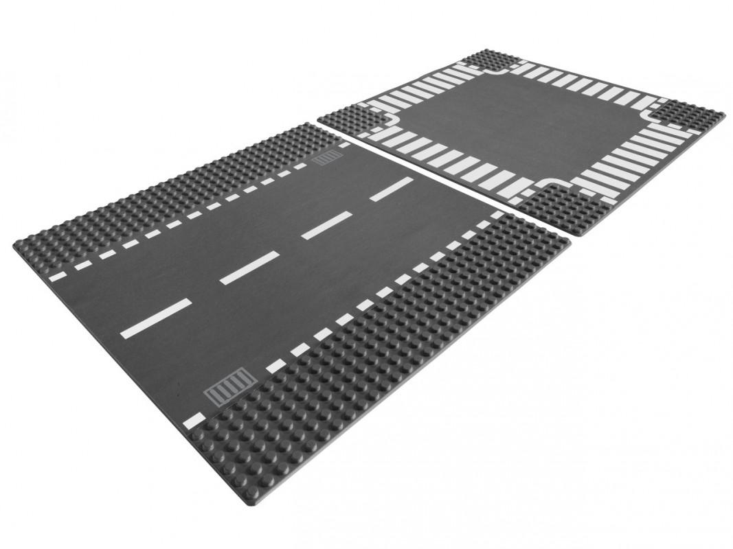 LEGO - Rovná Cesta A Křižovatka