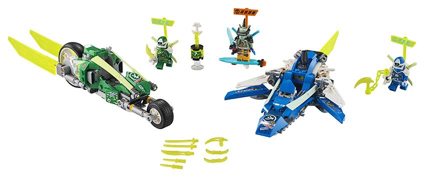 LEGO - Rychlá Jízda S Jayem A Lloydem