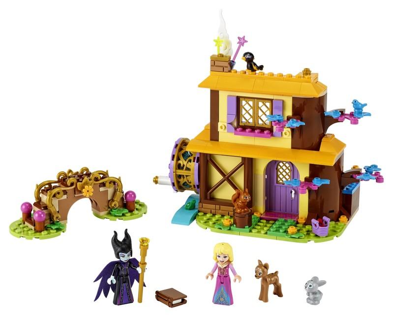 LEGO - Šípková Růženka a lesní chaloupka