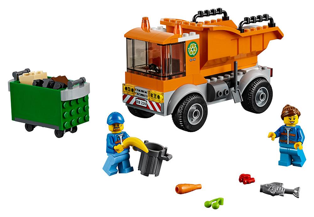 LEGO - Popelářské Auto