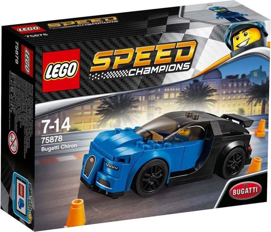 LEGO - Speed Champions 75878 Bugatti Chiron