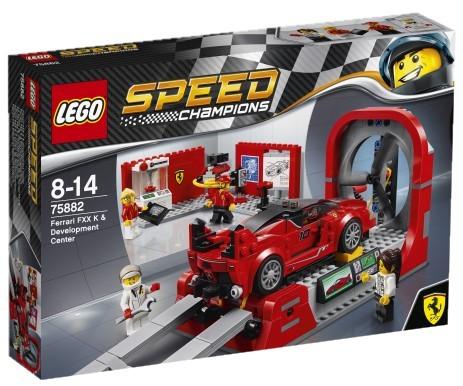 LEGO - Speed Champions 75882 Ferrari FXX K a vývojové centrum
