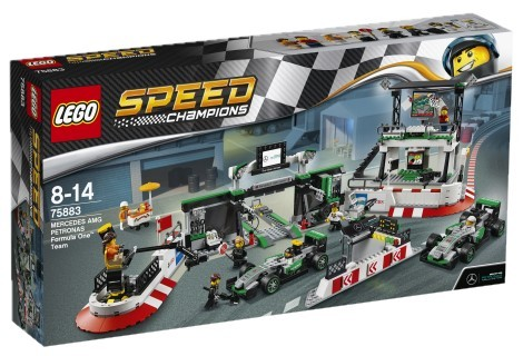 LEGO - Speed Champions 75883 MERCEDES AMG PETRONAS Formula One Team