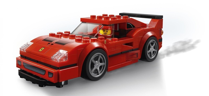 LEGO - Speed Champions 75890 Ferrari F40 Competizione