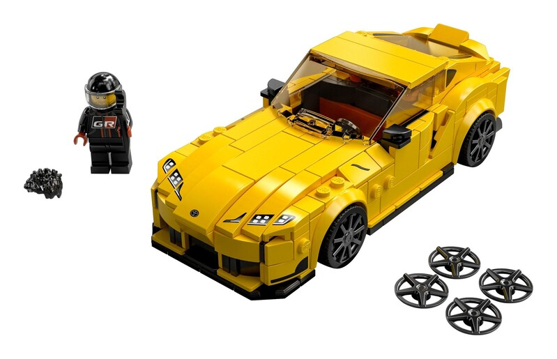 LEGO - Speed Champions 76901 Toyota GR Supra