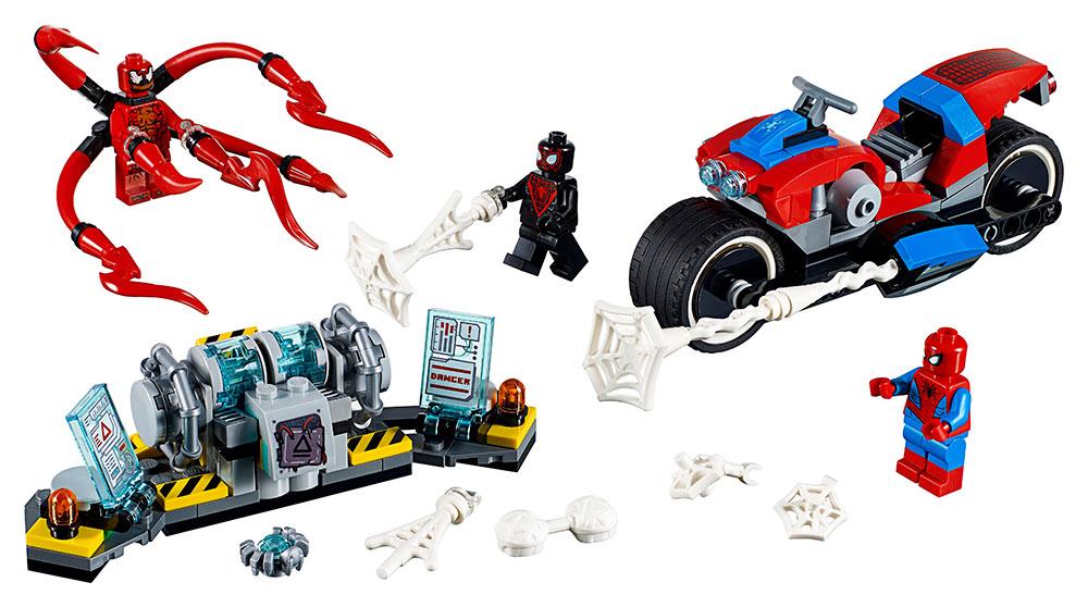 LEGO - Spider-Man A Záchrana Na Motorce