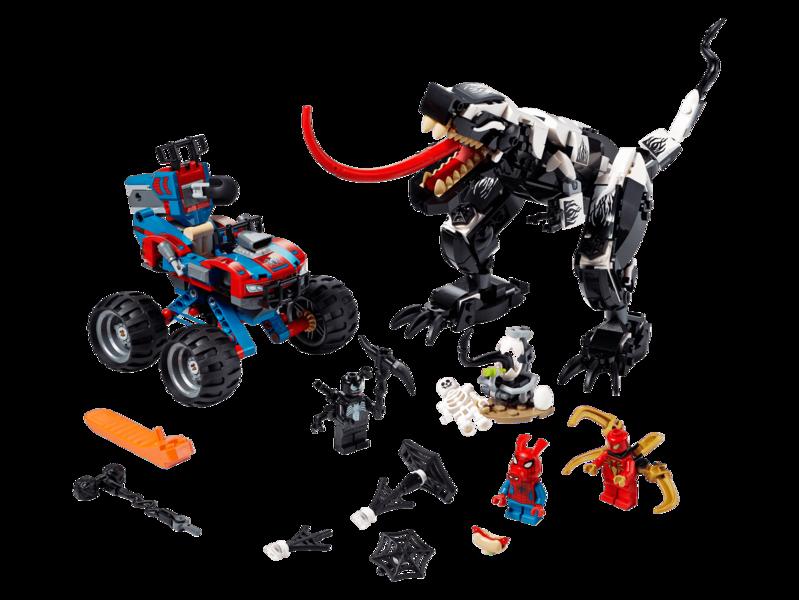 LEGO - Spider-Man Past na Venomosaura