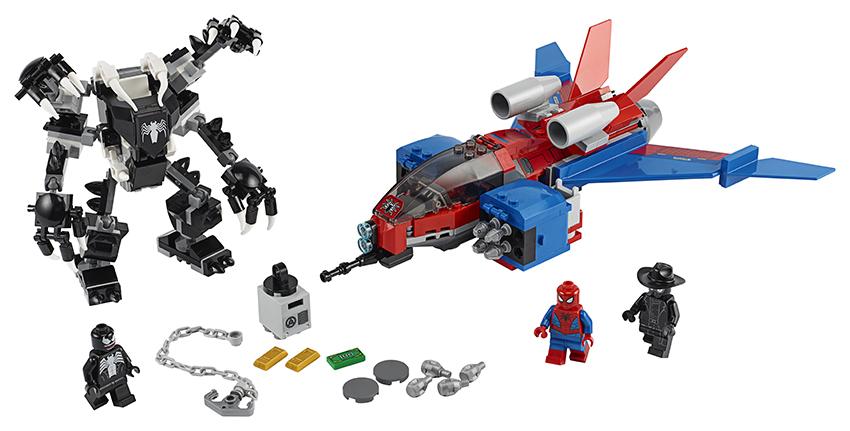 LEGO - Spiderjet Vs. Venomův Robot