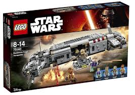 LEGO - Star Wars 75140 Resistance Troop Transport (Vojenský transport Odporu)
