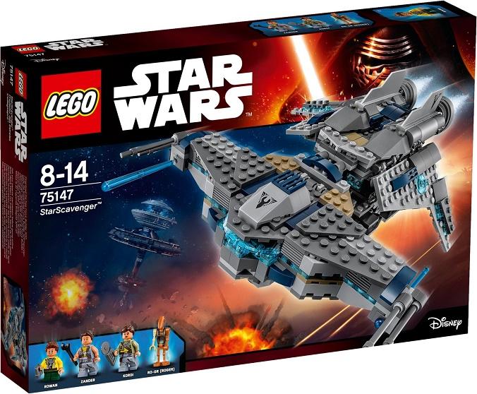 LEGO - Star Wars 75147 Star Scavenger (Hvězdný Scavenger)