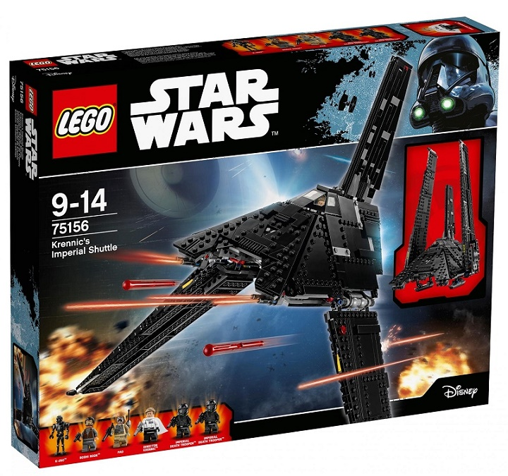 LEGO - Star Wars 75156 Krennic 's Imperial Shuttle (Krennicova loď Impéria)