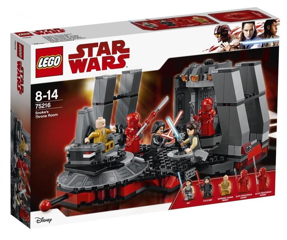 LEGO - Star Wars 75216 Snokeova trůnní síň