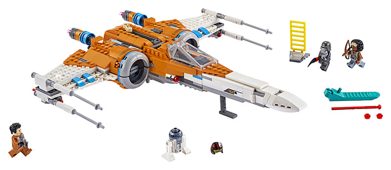 LEGO - Star Wars 75273 Stíhačka X-wing Poea Dameron