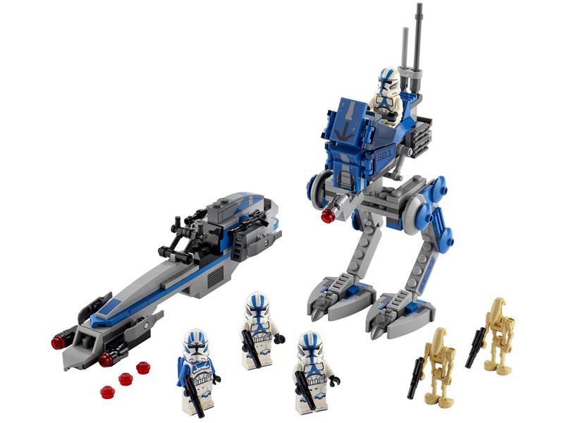 LEGO - Star Wars 75280 klon vojáci z 501. legie