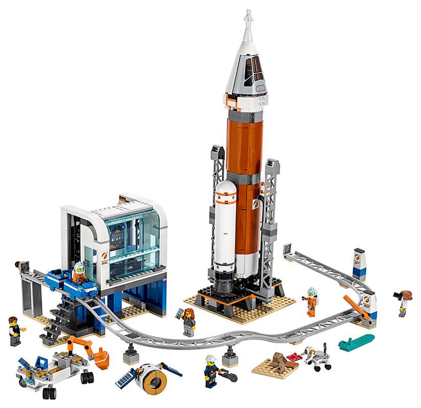 Fotografie LEGO - Start Vesmírné Rakety Lego