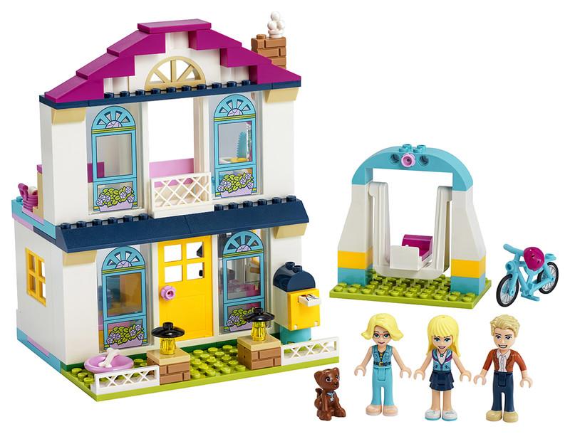 LEGO - Stephanie a její dům 4+