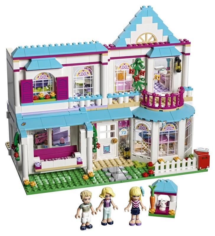 LEGO - Stephanie A Její Dům