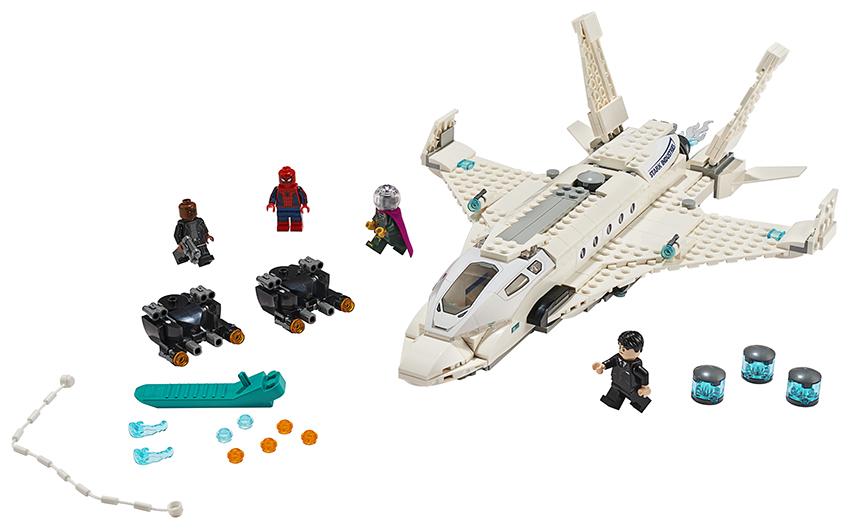 Fotografie LEGO - Tryskáč Tonyho Starka A Útok Dronu Lego