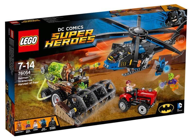 LEGO - Super Heroes 76054 Batman: Scarecrowova Žeň strachu