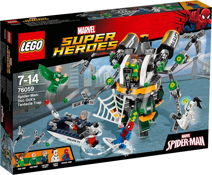 LEGO - Super Heroes 76059 Spiderman: Past z chapadel doktora Očka