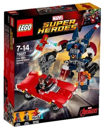 LEGO - Super Heroes 76077 Iron Man: Robot z detroitském oceláren