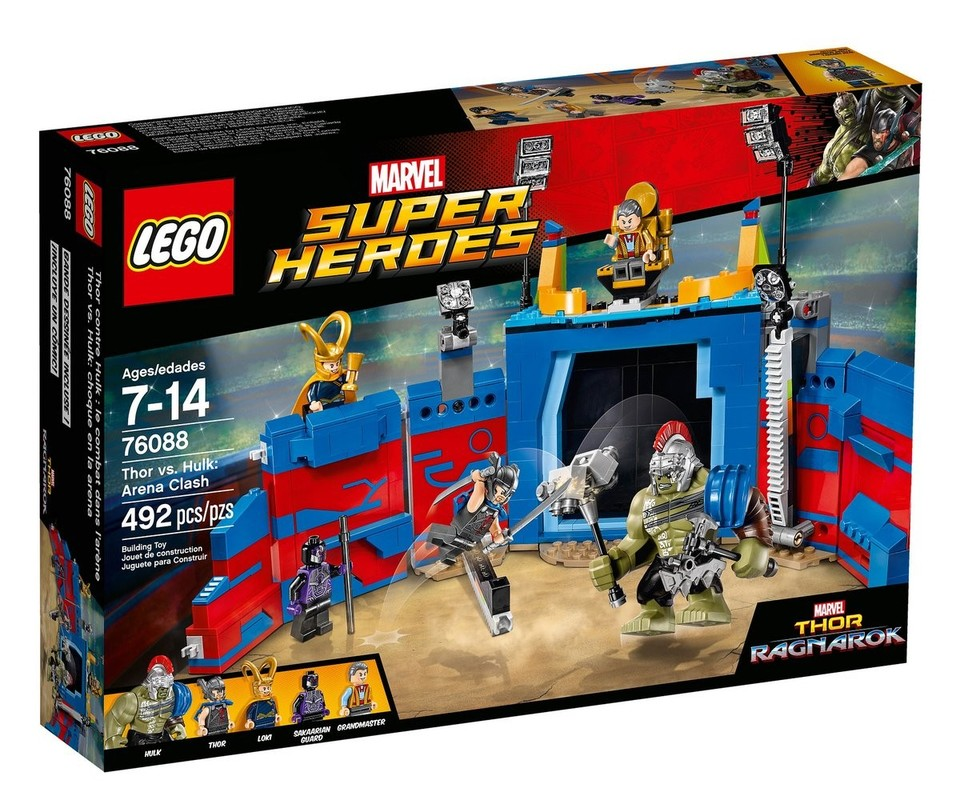 LEGO - Super Heroes 76088 Thor vs. Hulk: Souboj v aréně