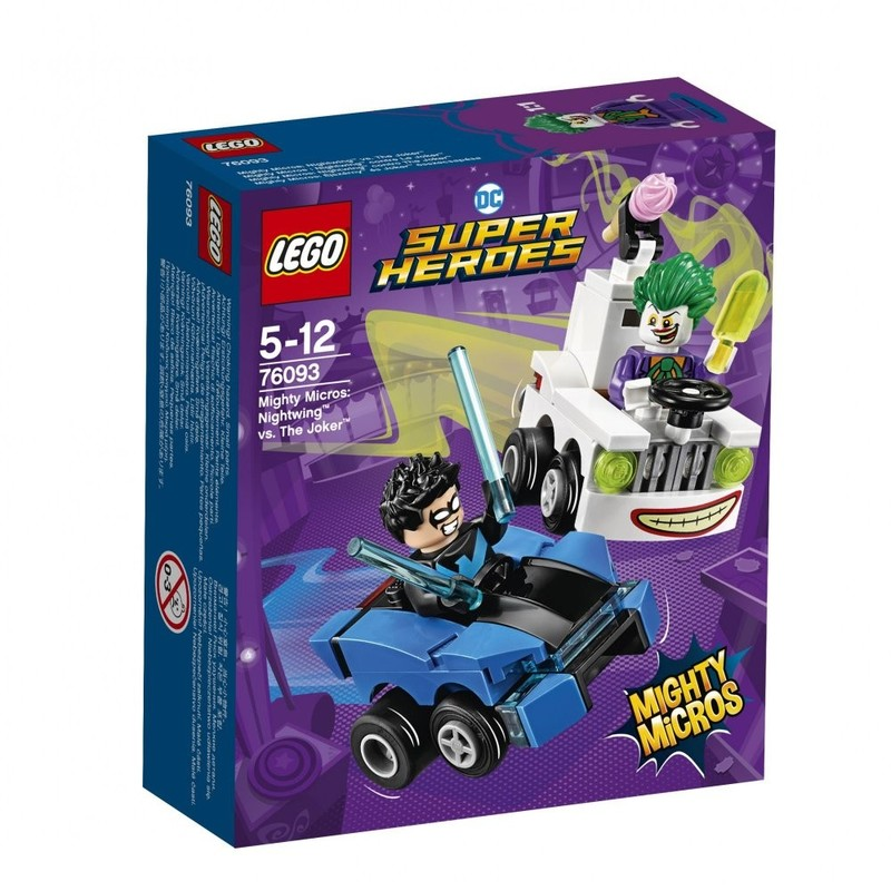 LEGO - Super Heroes 76093 Mighty Micros: Nightwingom ™ vs. joker ™