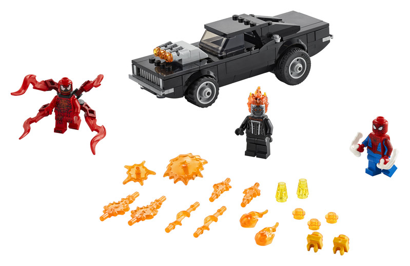 LEGO - Super Heroes 76173 Spider-Man a Ghost Rider vs. Carnage